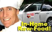Raw food delivery new york, long  island, in home chef