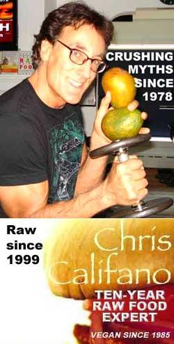 Chris Califano raw vegan teacher trainer, The Best Weigh Center For Ultimate Health, The First Supper