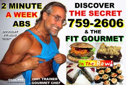 2 minute abs, belly fat loss, raw vegan fat loss, vegan personal trainer, raw personal trainier