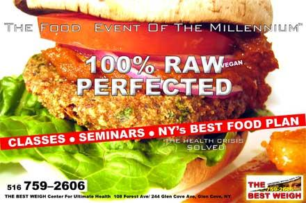 The first supper raw food plan